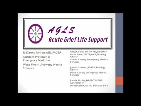 Acute Grief Life Support