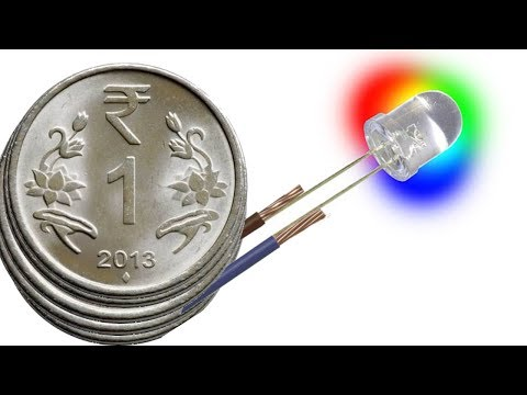 how to make a battery using coins
