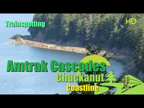 Amtrak Cascades Coastal Train Runs Vancouver To Seattle