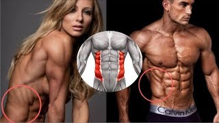 Obliques Workout to get V Cut Shredded Abs