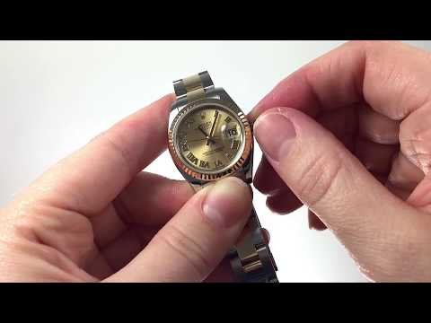 How to Set the Time and Date for the Rolex Lady Datejust