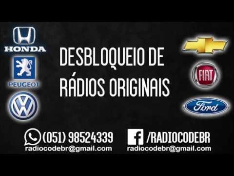 Recuperar Code Código Radio Cd Original Ford, Fiat, Volkswagen, Chevrolet, Renault