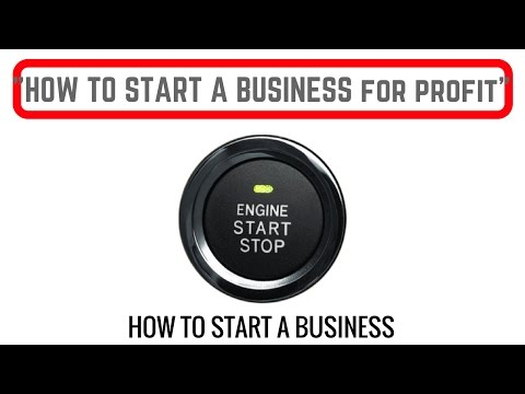 How to Start a Business for Profit -The Structure of Your Business - Why I Don't have Business Cards