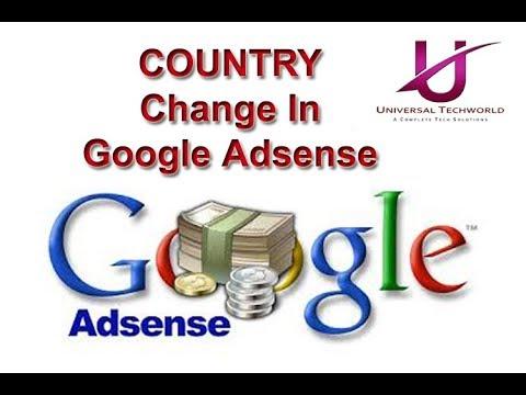 How To Change Country Address In Google Adsense Account | Monetize Google Adsense Via Youtube
