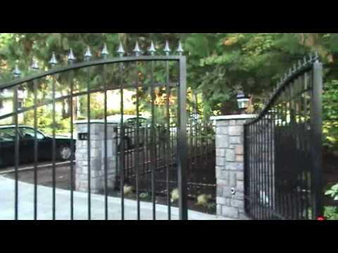 Custom Driveway Gates - Automatic Swing & Sliding Security Gates