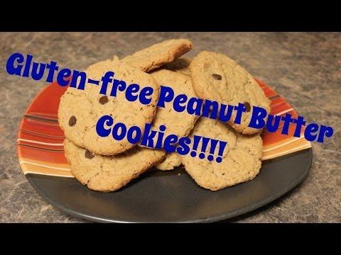 Yummy Gluten-free Peanut Butter Cookies!!