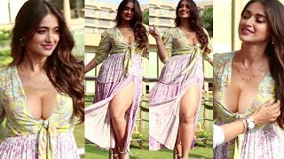 Ileana D'Cruz H0T Thighs In 0PEN Dress During Pagalpanti Promotion