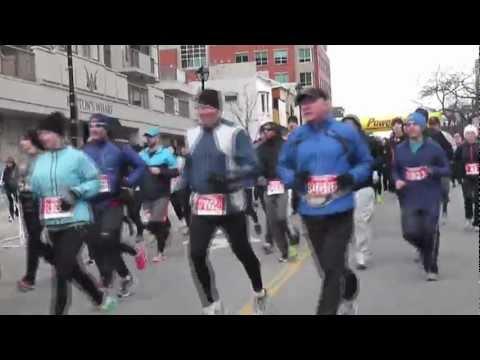 Chilly Half Marathon Burlington 2013