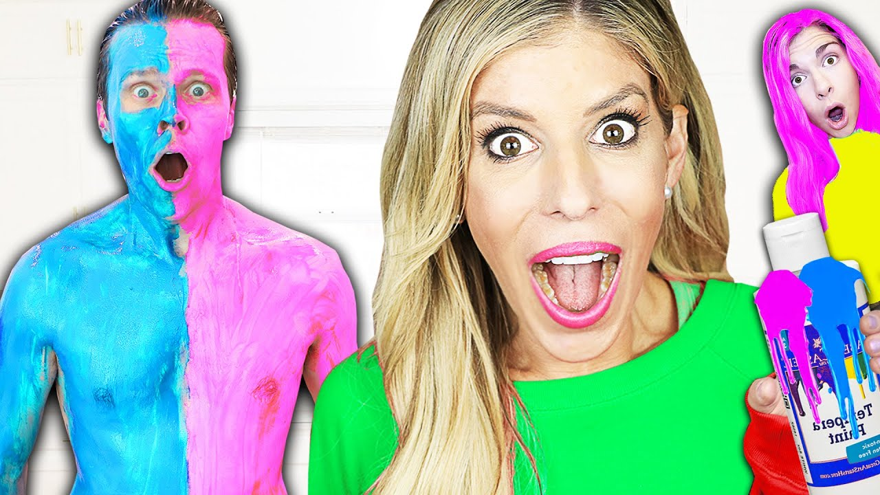 Using only ONE COLOR to Trick Your Best Friends! Rebecca Zamolo