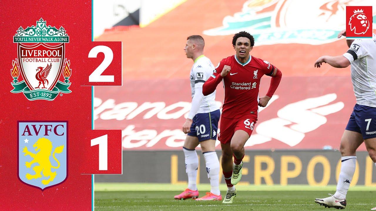 Highlights: Liverpool 2-1 Aston Villa | Trent grabs the winner against Villa