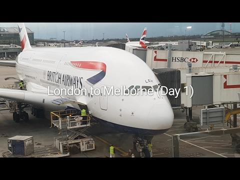UK to Australia (Day 1)