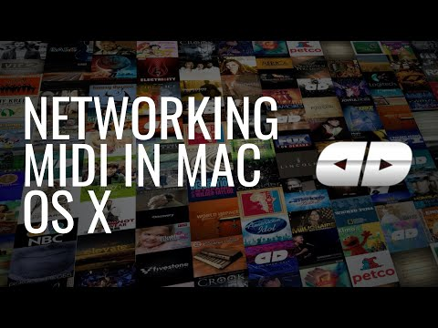 Networking MIDI in Mac OS X