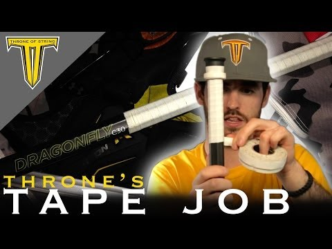 Tutorial : How to Tape a Lacrosse Shaft : Epoch Gen5 Dragonfly C30