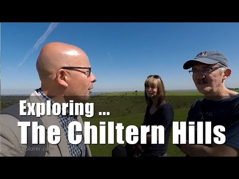 Walks in England: Chiltern Hills at Barton-le-Clay