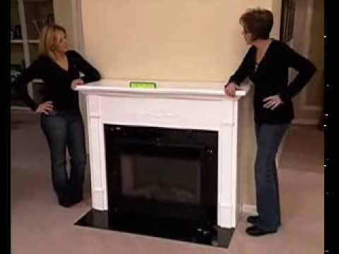 How to Makeover Your Home Using a Fireplace Mantel and Electric Fireplace (PBS) - Part 3