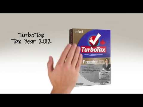 Intuit TurboTax Tax Year 2012 - Exciting Stuff!