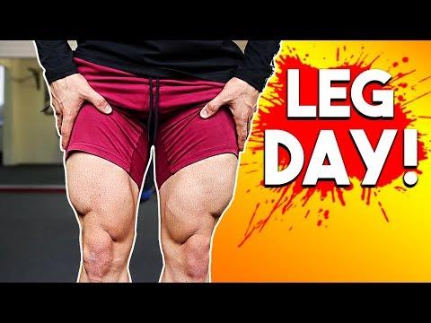 FULL LEG WORKOUT (Chicken Leg Extermination!)