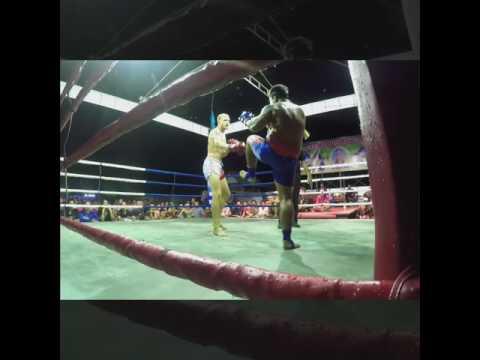 Ross Stevens Pro Muay Thai Fight