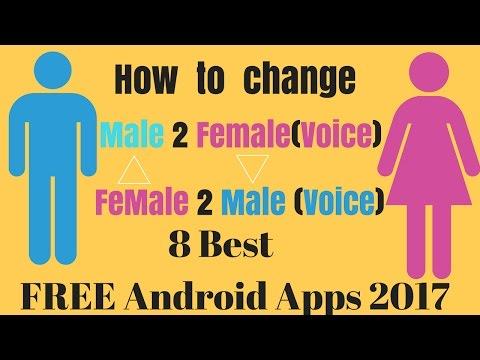 Top 8 best Best Male Voice to Female Vocie Changer Android App | Male to Female voice changer app