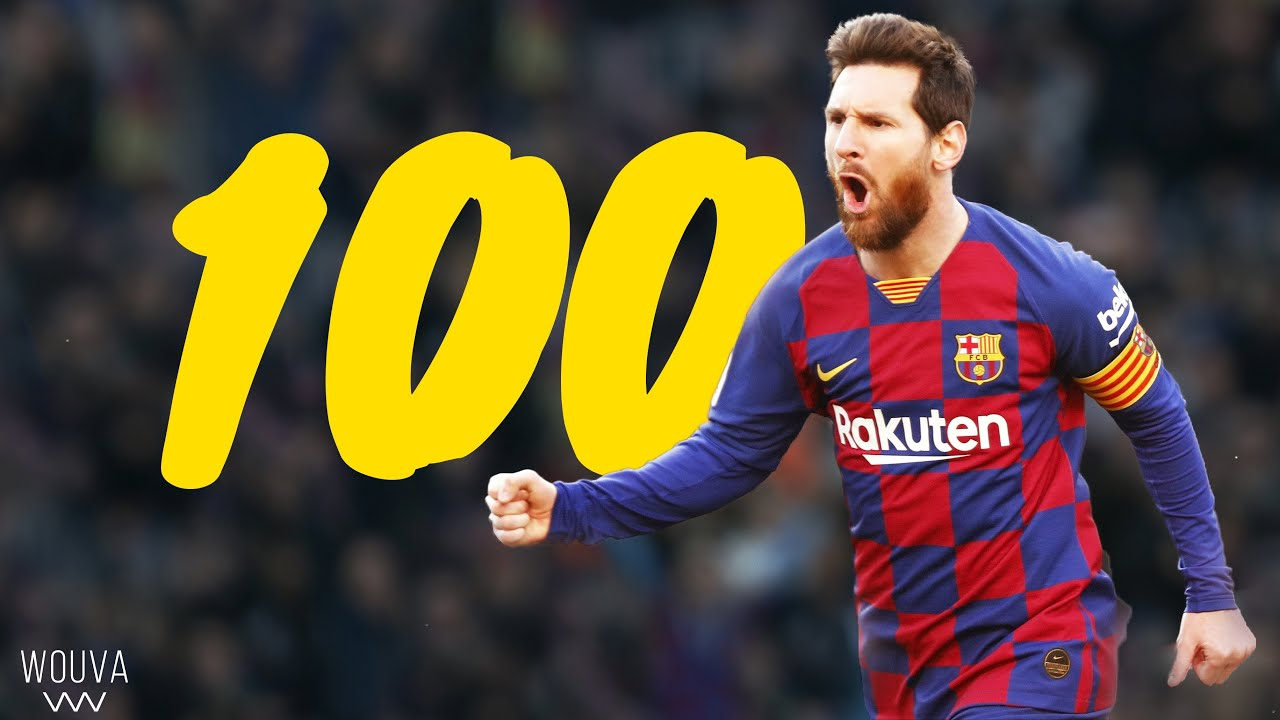 Lionel Messi - Top 100 Goals Ever (With Commentary)