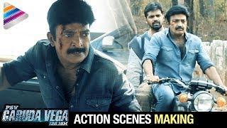 Rajasekhar Action Scenes | PSV Garuda Vega Movie Making | Pooja Kumar | Sunny Leone | Shraddha Das