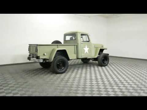 1952 Jeep Willys Pickup for Sale - Old Military Pickups For Sale