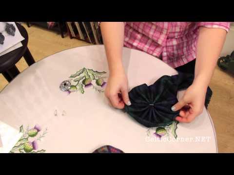 How to make a rosette