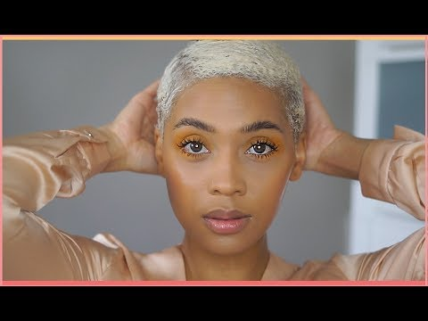 Short Blonde Hair Routine : How To Mold / Style