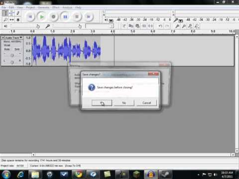 How To Make Commentary Using Audacity