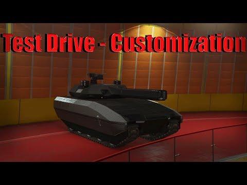 Gta 5 Online | TM-02 Khanjali - Test Drive And Customization - Doomsday Heist Dlc