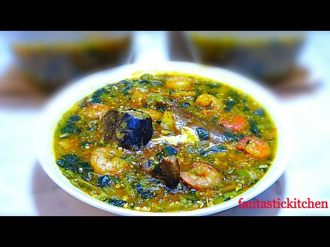 How to make Okro with Ogbono soup | Nigerian way.