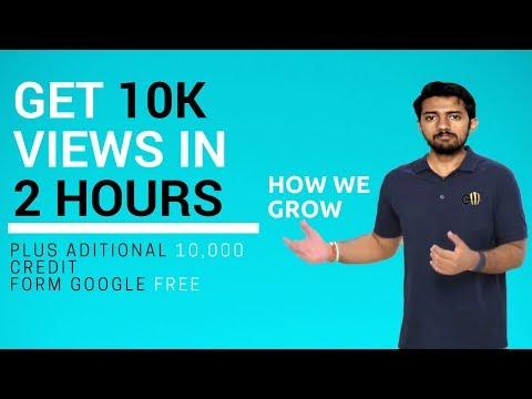 How to get 10k views in 2 hours | Grow like Technical Guruji | Get free Subscribers