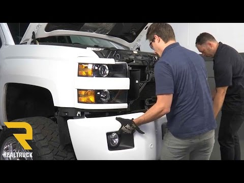 How to Remove The Factory Front Bumper on a 2017 Chevrolet Silverado 2500HD