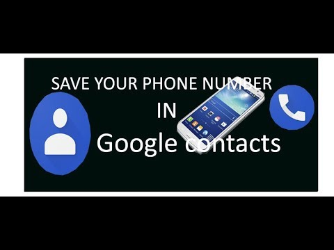 How to save mobile number in Google contact by (SOMETHING NEW) HINDI/URDU