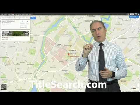 How do you identify the legal description or location of a property?  | AFX