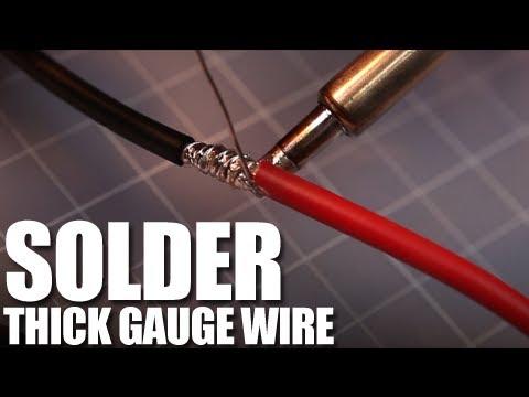 Flite Test - Solder Thick Gauge Wire - FAST TIP