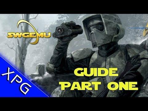 Star Wars Galaxies Emulator - Getting Started Guide Part 1 - SWGEMU