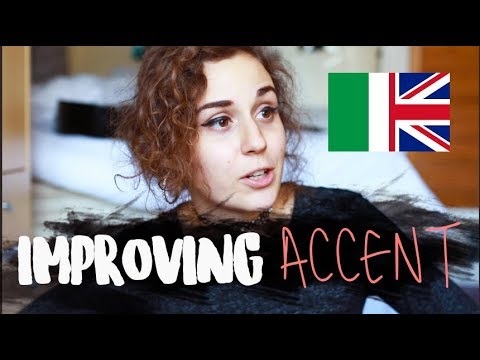 Improving Your English Accent (ITALIAN vs ENGLISH) | doyouknowellie