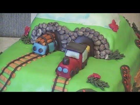 3D Kids Cake - Train Cake