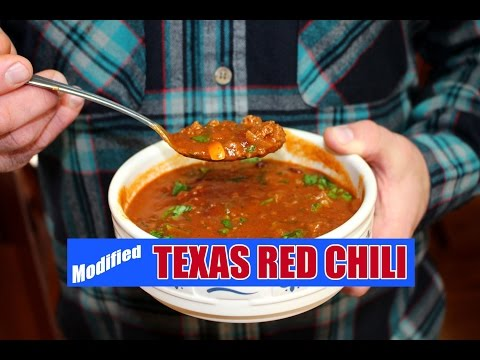 World's-Best Texas Red Chili - WITH BEANS!!!!