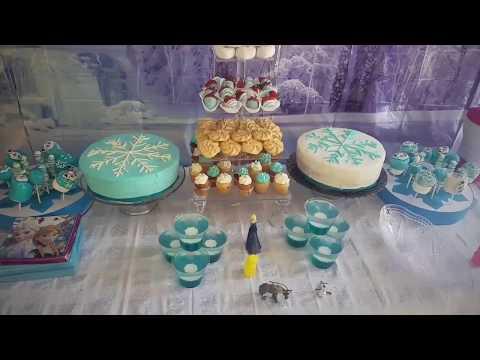 frozen party ❄ fiesta de frozen decoracion 🎂