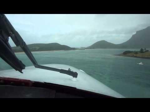 YLHI Lord Howe Island (Australia) - Go-Around RWY 10 Severe turbulence windshear - Cheyenne II PA31T