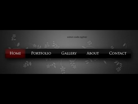 How to Create a Nav Bar | HTML & CSS Tutorial