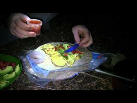 Camping Food - Boil in Bag / Ziploc Omelette