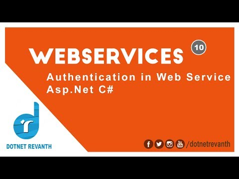 Authentication in Web Service Asp.Net C# || Part-10