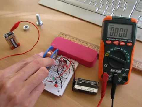 Enhance the strength of an electromagnet with an iron core