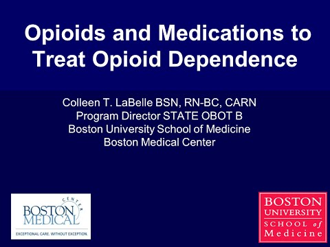 Opioids and Medications to Treat Opioid Dependence