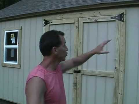 Shed tips 1, Cutting your doors and windows the easy way!