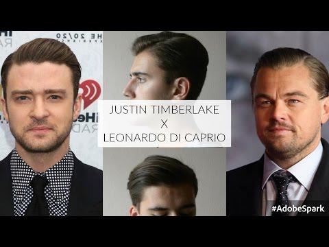 Justin Timberlake/Leonardo di Caprio Hairstyle | Mens Hair June 2016