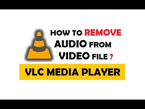 How to Remove Audio from Video using VLC Media Player | Easiest Way